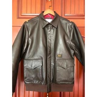 WTAPS A-2 16AW JACKET LEATHER SHEEP