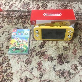 Nintendo Switch - Nintendo Switch Lite イエロー&どうぶつの森