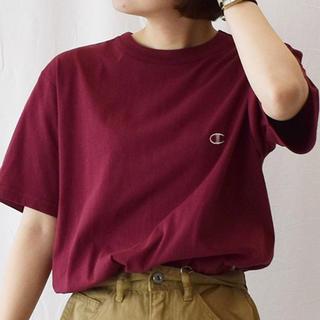 チャンピオン(Champion)の〈Champion〉ワンポイントTシャツ ユニセックス(Tシャツ(半袖/袖なし))