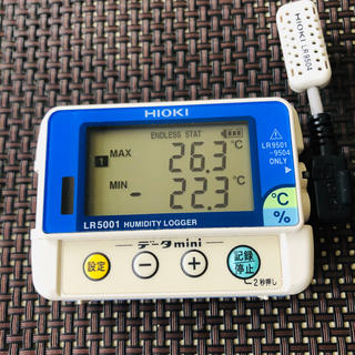 HIOKI(日置電機) LR5001 温湿度ロガー センサーセット(その他)