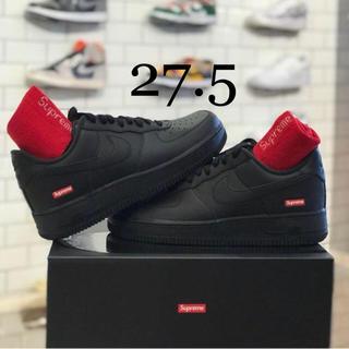 シュプリーム(Supreme)の27.5 Supreme Nike Air Force 1 Low 黒(スニーカー)
