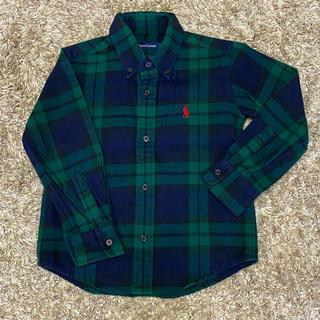 Ralph Lauren - 【Ralph Lauren】子供服 110cm ラルフローレン チェックシャツ