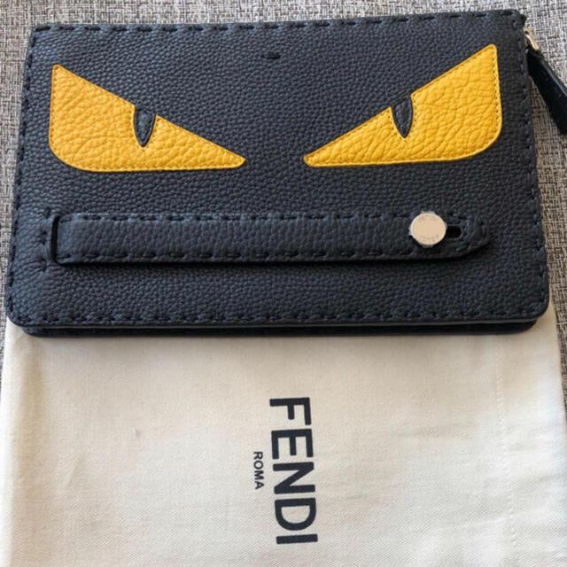 FENDI(フェンディ)のFENDI フェンディ クラッチバッグ モンスター メンズのバッグ(セカンドバッグ/クラッチバッグ)の商品写真