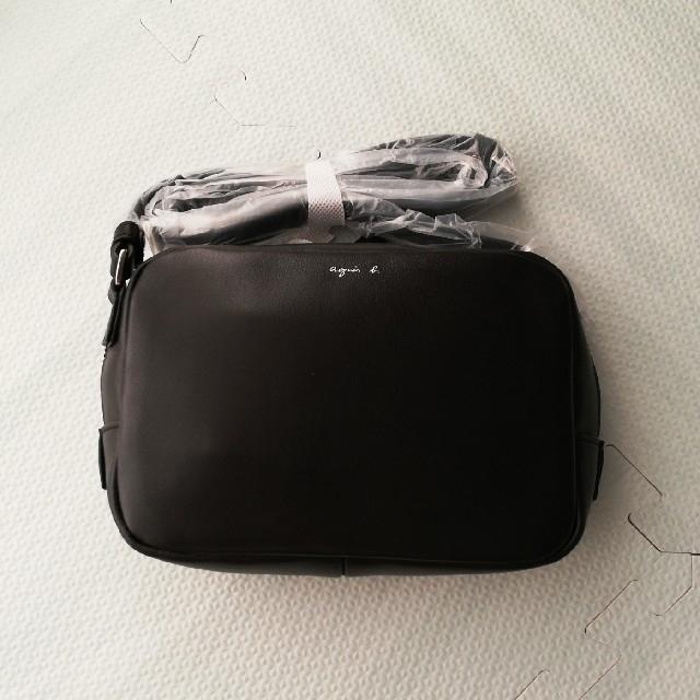 agnes b.(アニエスベー)の正規品 agnes b.  ショルダーバッグ ブラック レディースのバッグ(ショルダーバッグ)の商品写真