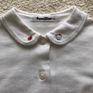 familiar - 美品 ファミリア ブラウス 100