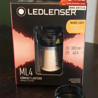 レッドレンザー(LEDLENSER)のレッドレンザーML4 WARM ×INAVNCE CAP 各1個セット(ライト/ランタン)
