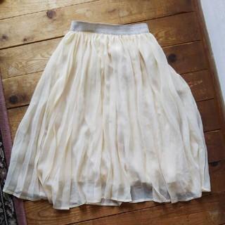 GU - GU プリーツスカート 140cm ロング キッズ 女の子 girl
