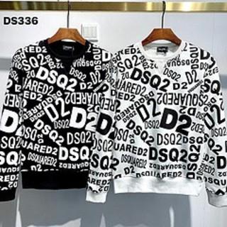 DSQUARED2 - DSQUARED2 ディースクエアード 長袖シャツ スウェット 新品 DS336