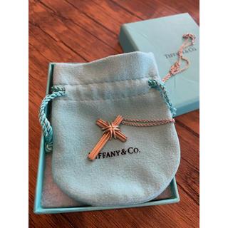 ティファニー(Tiffany & Co.)のティファニー  ネックレス クロス コンビ(ネックレス)