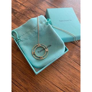 ティファニー(Tiffany & Co.)の1回着用 ティファニー  Tiffany アトラスラウンド ネックレス(ネックレス)