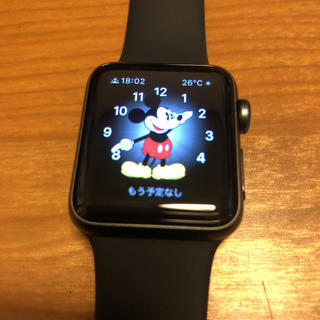 Apple Watch - Apple Watch Series 3 GPS+Cellularモデル 38