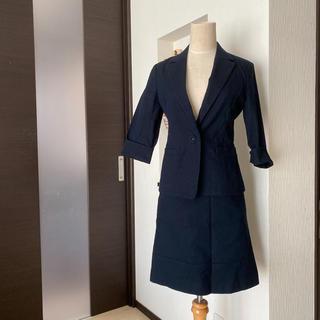 ナチュラルビューティーベーシック(NATURAL BEAUTY BASIC)の美品☆NATURAL BEAUTY BASIC スカートスーツ(スーツ)