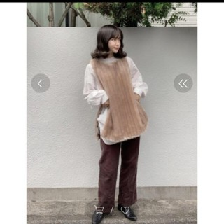 BEAUTY&YOUTH UNITED ARROWS - 6 roku ★先期即完売 FAKE FUR VEST ベスト