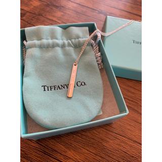 ティファニー(Tiffany & Co.)のティファニー  Tiffany  バーネックレス 未使用(ネックレス)