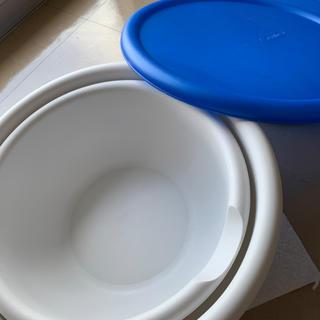 イケア(IKEA)のアウトドアに!使える!大きなプラスティックボール2点セット!(食器)