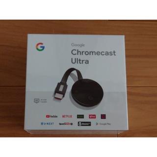 新品未使用 Google Chromecast Ultra