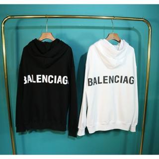 Balenciaga - BALENCIAGA_2819 4色 シンプル パーカー 2枚14000円
