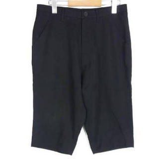 JULIUS - JULIUS ユリウス ハーフパンツ 半ズボン サルエルパンツ 黒 メンズ