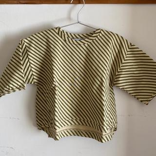 コドモビームス(こども ビームス)の未使用*arkakama アルカカマ 7分丈スウェット Lサイズ(Tシャツ/カットソー)
