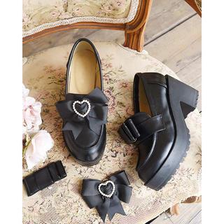 リズリサ(LIZ LISA)のロリータ  ゆめかわ  やみかわ   lizlisa 黒靴(ハイヒール/パンプス)