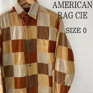 アメリカンラグシー(AMERICAN RAG CIE)のAMERICAN RAG CIE パッチワーク調 コーデュロイシャツ(シャツ)