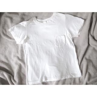ヤエカ(YAECA)のyaeca CREW NECK TEE ホワイト Sサイズ ポケットTシャツ(Tシャツ(半袖/袖なし))
