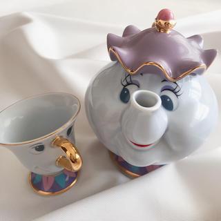 Disney - ディズニーランド🏰美女と野獣🥀ティーポット&カップ