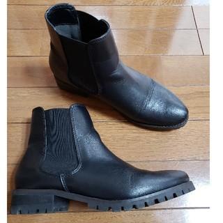ジーナシス(JEANASIS)のJEANASIS サイドゴアブーツ ショートブーツ ミリタリーブーツ(ブーツ)