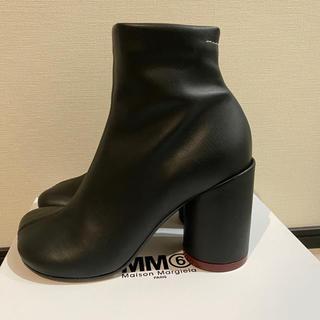 エムエムシックス(MM6)のMM6 エコレザーブーツ(ブーツ)