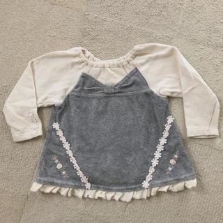 スーリー(Souris)のsouris スーリー 長袖トップス 100(Tシャツ/カットソー)