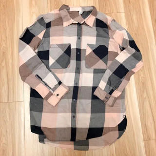 エイチアンドエム(H&M)のH&M チェックシャツ(シャツ/ブラウス(長袖/七分))