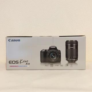 Canon - キヤノン EOS Kiss X10 ダブルズームキット ブラック