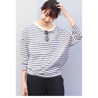 プラージュ(Plage)の新品★プラージュ ボーダーTシャツ 2020SS(カットソー(長袖/七分))