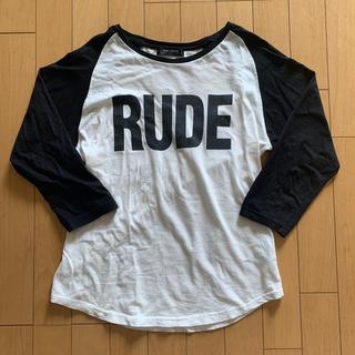 ルードギャラリー(RUDE GALLERY)の七分丈 ラグランカットソー(Tシャツ/カットソー(七分/長袖))