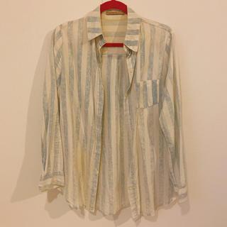 ローズバッド(ROSE BUD)のROSE BUD*ストライプシャツ(シャツ/ブラウス(長袖/七分))