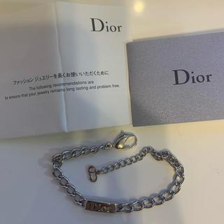 Christian Dior - Christian dior ロゴブレスレット