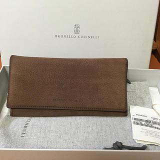 ブルネロクチネリ(BRUNELLO CUCINELLI)のbrunello cucinelli 長財布 クリーニング済(財布)