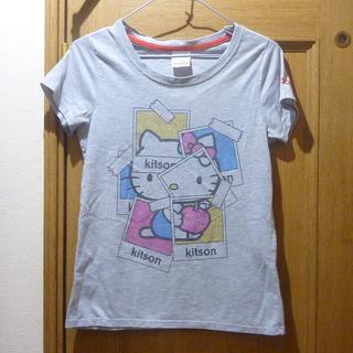 キットソン(KITSON)のkitson ハローキティ Tシャツ サイズL <a478>(Tシャツ(半袖/袖なし))