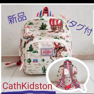 キャスキッドソン(Cath Kidston)のキャス・キッドソン☆カウボーイ柄 ミニリュック(リュックサック)