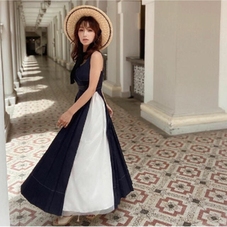 eimy istoire - eimyistoire Charme Denim Dress ワンピース