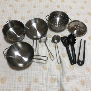 イケア(IKEA)のイケア IKEA ままごと   鍋 調理器具 セット(知育玩具)