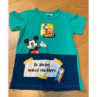 Disney - ミッキー タグ付 Tシャツ