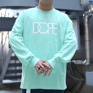 Dope Logo Long Sleeve Tshirt Mint Color