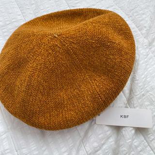 ケービーエフ(KBF)の未使用KBFベレー帽(ハンチング/ベレー帽)