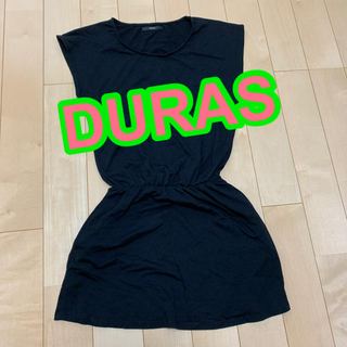 デュラス(DURAS)のDURAS 無地 ワンピース(チュニック)