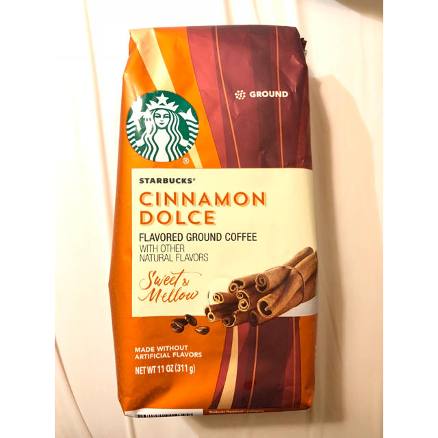 スターバックス❁ シナモンドルチェ 粉コーヒー 豆 フレーバー 食品/飲料/酒の飲料(コーヒー)の商品写真