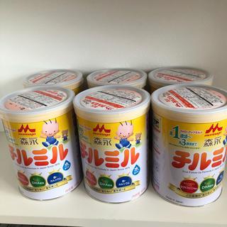 森永乳業 - 森永 チルミル 大缶 820g 6缶 粉ミルク 新品未開封 フォローアップミルク