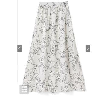 GRL - GRL 花柄フレアスカート