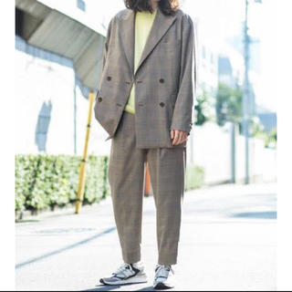 BEAUTY&YOUTH UNITED ARROWS - Beauty&Youth 19ss グレンチェック セットアップ ジャケット