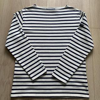 セントジェームス(SAINT JAMES)のSAINT JAMESボーダーバスクシャツ 長袖 size1(カットソー(長袖/七分))
